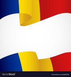Decoration of romania insignia on white vector image on VectorStock 1 Decembrie, Republica Moldova, Adobe Illustrator, Vector Free, Culture, Decoration, Decor, Decorations, Decorating