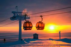 Gondola Lift, Polar Night, Most Visited National Parks, Family Holiday Destinations, Winter Scenery, Midnight Sun, Cross Country Skiing, Amazing Destinations
