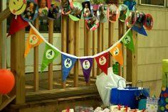 Baby Einstein birthday party theme