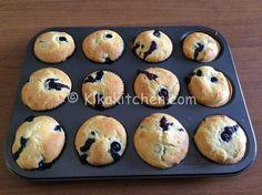 Muffin ai mirtilli (blueberry muffin) | Kikakitchen