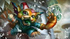 League of Legends Gnar Early Mornings Art Skin Gevurah_studios High Resolution 3840×2160