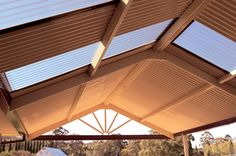 Colorbeam steel roof beams are ideal for home improvements such as awnings, carports, pergolas and verandahs requiring minimal maintenance.