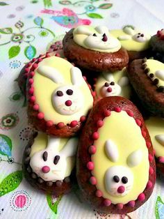 Gingerbread Easter's cookies