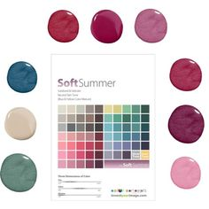 Soft Summer Swatches by angstgirl on Polyvore featuring women's clothing, women's fashion, women, female, woman, misses and juniors