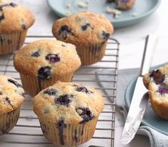Blueberry Muffins - seriously the best!