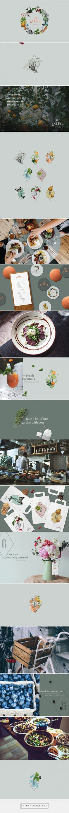 The Garden Restaurant Branding by Constanca Soromenho | Fivestar Branding Agency – Design and Branding Agency & Curated Inspiration Gallery