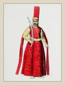 Ottoman Empire Military clothing, warrior dress.