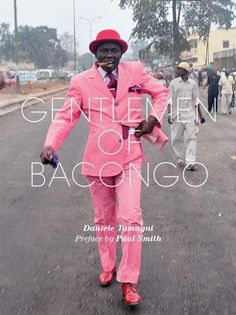 "Daniele Tamagni's ""Gentlemen of Bacongo"" book cover"