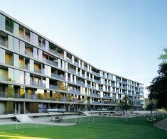 Brunnenhof Housing Complex. Zurich. Gigon Guyer