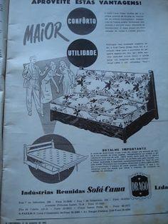 Ter um Sofá-Cama Drago era sinal de status nos anos 50 !