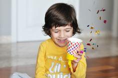 Estéfi Machado: Popper de festa improvisado! * 2 meses do Blog!