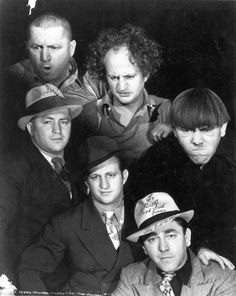 The Three Stooges in and out of character