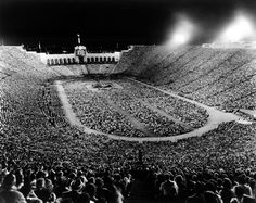 1963 Billy Graham Crusade, L.A. Coliseum where I found Jesus at age 14