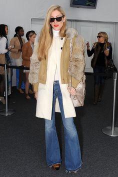 More Pics of Joanna Hillman Flare Jeans
