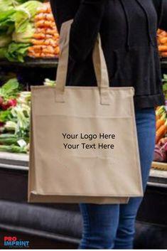 Shopper or Sling Cotton BagSize choice Tote I Love PE