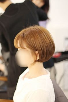 5번째 이미지 Cute Bob Haircuts, New Haircuts, Hair Day, My Hair, Short Haircut, Short Hairstyles For Women, Great Hair, Hair Inspiration, Cute Girls
