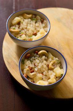 sabudana bhel recipe, quick sabudana recipe, navratri fasting or upwas