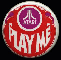 Cool vintage Atari pin