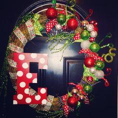Custom wreath 2013