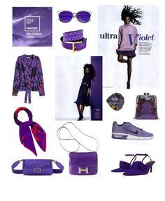 """Ultra Violet Pantone Fashion"" by cocolavieenrose on Polyvore featuring moda, Hermès, ZeroUV e Givenchy"