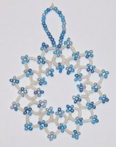 West Pine Creations: Snowflake  I was trying to use up a little si...