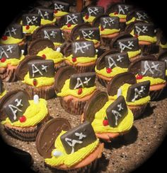 Teacher appreciation cupcakes for my DH's staff.