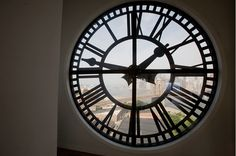 clocktower building clock window