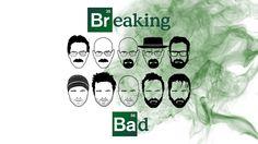 Breaking Bad Evolution Wallpaper by CairnsyMan