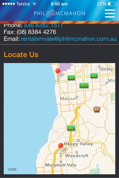 Contact Details.  We have ensured that both offices are on the same map.