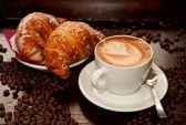 This was my breakfast every single morning in Italy! I miss those cappuccinos more than anything else I think!