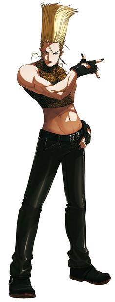 Benimaru Nikaido from The King of Fighters 2003