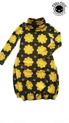 Mönster- klänning/ tunika Ruska-dress - 3Skatter.se