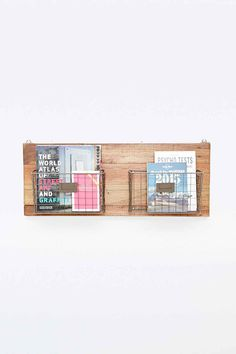 Wandregal aus recyceltem Holz - Urban Outfitters