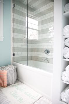 Kids Bathroom Ideas - Embellishing kids shower room can be very fun. Every edge of the shower room has to do with enjoyable. It's the area where they're likely to begin and finish daily, so Mold In Bathroom, Bathroom Kids, Bathroom Wall Decor, Bathroom Interior, Master Bathroom, Kids Bath, Mosaic Bathroom, Gold Bathroom, Small Bathroom Tub Ideas