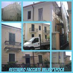 Restauro facciate Villa Car, Automobile, Vehicles, Cars