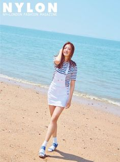 Steal Her Look: A-Pink's Na Eun's Beach Outfit