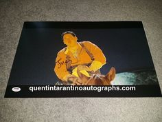 My Quentin Tarantino Autograph Collection: Jonah Hill of Django Unchained! Autographs! Photos...