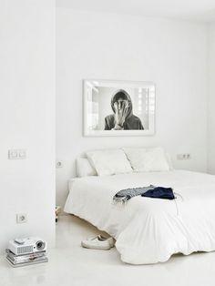 white + simple