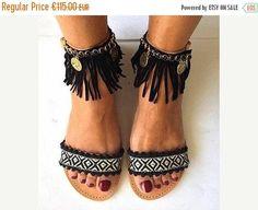 20% OFF Handmade Leather Sandals Nefeli Boho