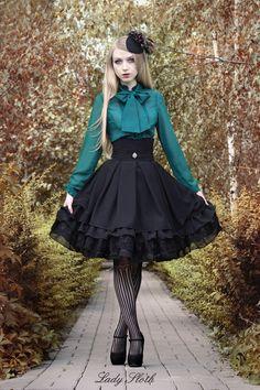 Lady Sloth | Black HW skirt | Online Store Powered by Storenvy