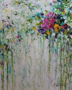 Flower Painting Abstract Acrylic Painting Acrylic Artworks