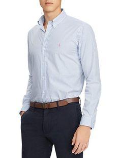 fd0101525 Polo Ralph Lauren Stripe Poplin Sport Shirt