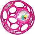Amazon.com : Rhino Toys Oball Rattle, Pink : Baby