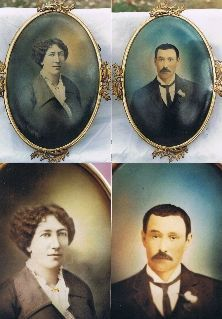 Katie Elder 'Big Nose Kate' and Doc Holliday ... wedding photo .. married on the 25th of May 1876