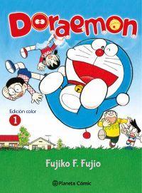 Manga shonen / Kodomo. Doraemon nº 1. Edición en color.