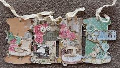 I just love Scrapmatts sewing ATCs and when Kaisercraft released their Needle and Thread Paper I just had to make more tags. The gorgeous sewing chipboard look… Vintage Christmas Cards, Christmas Wishes, Wish Gifts, Sewing Cards, Handmade Tags, Plan My Wedding, Card Tags, Needle And Thread, Cardmaking