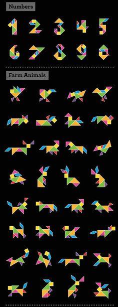 die 12 besten bilder von tangram  legespiele legenden