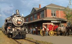 Kamloops Heritage Railway is a Photo Op in BC. Plan your road trip to Kamloops Heritage Railway in BC with Roadtrippers. Great Places, Places To See, Heritage Railway, Riverside Park, Multimedia Artist, O Canada, Local Artists, Public Art, British Columbia