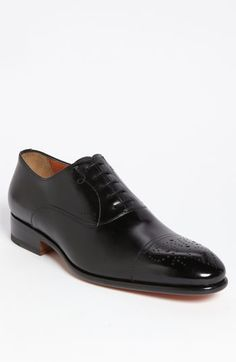 Santoni 'Stafford' Cap Toe Oxford available at #Nordstrom