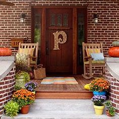 12 cozy porches decked out for fall